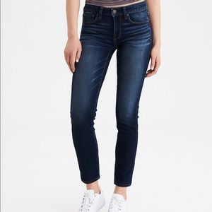 American Eagle Outfitters Skinny Jeans Blue Sz 4S